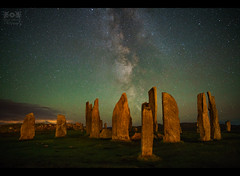 Callanish Stones - Isle Of Lewis (xpfloyd) Tags: 2016 a7rii alpha camper campervan harris lewis rii scotland sony vw xpfloyd milkyway galaxy nightphotography aurora samyang24 callanish standing stones stars neolithic explore explored