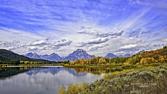 Oxbow Bend, Snake River, Jackson Hole Wyoming, Grand Teton National Park Autumn 2016 (Hawg Wild Photography) Tags: oxbowbend snakeriver jacksonholewyoming grandtetonnationalparkautumn2016 nature landscape terrygreen nikon d810 70mm200mm vr