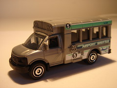 MATCHBOX GMC SAVANA BUS NO8 CITY AIRPORT SHUTTLE BUS 1/64 (ambassador84 OVER 6 MILLION VIEWS. :-)) Tags: matchbox bus diecast gmcsavana