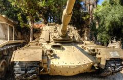 M48 Patton Main Battle Tank (maskirovka77) Tags: israeldefenseforces idf museum idfmuseum tanks m48 outdoors hdr armoredcar artillery antiaircraft armoredpersonnelcarrier bridgingequipment