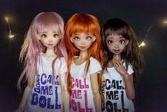 Don't Call Me Doll ~ (Lola  Atelier Momoni +) Tags: momoni ateliermomoni artistdoll bjd doll