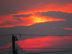 IMG_0414 (kennethkonica) Tags: sky color clouds sunset canonpowershot canon lines global random hoosier america midwest usa summer outdoor indiana indianapolis dramatic indy beauty