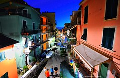 manarola in the blue hour (Rex Montalban Photography) Tags: rexmontalbanphotography cinqueterre manarola italy bluehour
