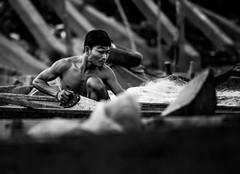 Life at Tonle Sap Lake (Stan Noodlesen) Tags: blackandwhite bw monochrome life candid cambodia nikon d610 fullframe nikkor documentary indochina asia travel nikkor180mmf28 nikon180mmf28 180mm