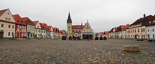 Bardejov town square