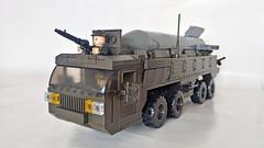 HEMTT (John Lamarck) Tags: lego sluban mega bloks bricks missile truck jeeo military war