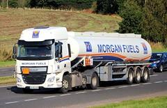 DAF CF Euro 6 - MORGAN FUELS (scotrailm 63A) Tags: lorries trucks tankers