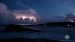 Lightening storm, Tortuga Cove (jimcatlinphotography.com) Tags: mexico project50 lightening storm tulum beach