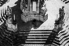 Palermo sleeping II (rob.lomb) Tags: palermo sicily blackwhite art monument urban city