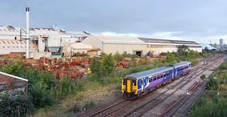 156475 at Park Lane Junction, Gateshead