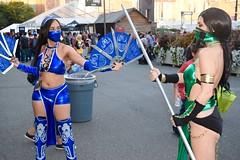 DSC_0340 (Randsom) Tags: nycc 2016 newyorkcomiccon nycomiccon javitscenter october nyc newyorkcity cosplay costume fun comicbooks comicconvention female ninja mortalkombat jade kitana