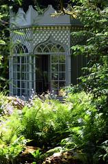 Woolbeding Garden (Mark Wordy) Tags: woolbedinggarden midhurst westsussex secretgarden summerhouse folly ferns