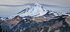 Sherman Peak, Mount Baker, and Coleman Pinnacle (keithc1234) Tags: shermanpeak mountbaker colemanpinnacle clouds snow glaciers kulshanridge landscape mountains