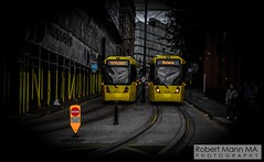 ManchesterVictoria2016.10.09-34 (Robert Mann MA Photography) Tags: manchester manchestervictoria manchestercitycentre greatermanchester england victoria victoriastation manchestervictoriastation manchestervictoriarailstation victoriarailstation city cities citycentre architecture summer 2016 sunday 9thoctober2016 manchestermetrolink metrolink trams tram nightscape nightscapes night light lighttrails