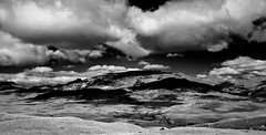IMG_7840 Patagonia II in B&W (Rodolfo Frino) Tags: bw mountains mountain peak peaks sky cloud clouds dramatic patagonia argentina south southofargentina contrast landscape paisaje cielo nubes ciel nature naturaleza blackandwhite blackwhite highcontrast hdr field photography snow series photoseries photographicseries pictureseries stillpictureseries bwseries