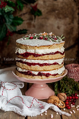 Christmas Layered Cake with Raspberry Jam and Whipped Cream (dolphy_tv) Tags: background baking berry buttercake cake celebration christmas christmascake cranberry cream decorated decoration delicious dessert english festive food frosted gourmet holiday homemade icing jam layer marmalade newyear pastry powdered raspberry red rosemary rustic seasonal snow sponge stand sugar sweet table tasty torte traditional victoria victoriasponge vintage walnut wedding whipped winter xmas