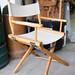 Folding directors canvas chair €20