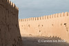 Khiva: at the North Wall (10b travelling / Carsten ten Brink) Tags: 10btravelling 2015 asia asien bogchadarvoza carstentenbrink centralasia iptcbasic ichankala ichonqala khiva silkroad sovietunion ussr uzbek uzbekistan xiva adobe gate mudbrick north tenbrink thestans wall