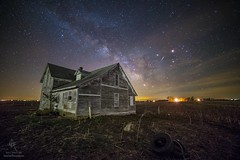 """The Unknown"" by Aaron Groen @HomeGroenPhotography  HomeGroenPhotography.com   #milkyway #abandoned #astronomy #nightscaper #PRINTS #milkywaychasers #astrophotography #aadexplore #GreatRift #iridiumflare #saturn #mars #scorpious #centerville #DarkPlaces # (HomeGroenPhotography) Tags: instagramapp square squareformat iphoneography uploaded:by=instagram"