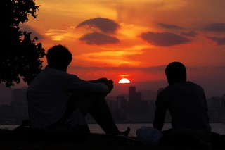Sunset na Guanabara - Gragoatá, Niterói, Rio de Janeiro, Brasil.