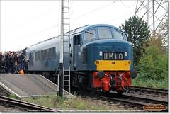 D182 (46045) on 2M46, Peterborough (NVR), October 15th 2016 (Bristol RE) Tags: d182 182 46045 46 class46 peak nvr nenevalleyrailway