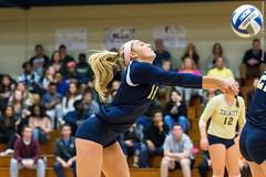2016-10-14 Trinity VB vs Conn College - 0174 (BantamSports) Tags: 2016 bantams college conncollege connecticut d3 fall hartford nescac trinity women ncaa volleyball camels