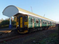 150232 Falmouth Docks (4) (Marky7890) Tags: gwr 150232 class150 sprinter 2t70 falmouthdocks railway station cornwall train maritimeline