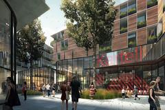 Mixed-Use Building (Imagenatives) Tags: imagenatives architectural visualisation archviz