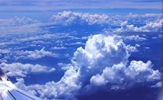 Sky (SeleneOlivaphoto) Tags: sky blue azul nubes cielo avin algodn amor love great alturas