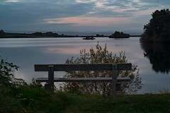 sit awhile (Jason Coyle) Tags: bench water scotland stirlingshire norththird norththirdreservoir longexposure slowshutter longexposurephotography sky clouds colourful