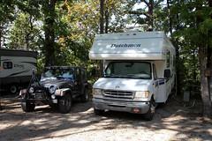 Home Sweet Home (twm1340) Tags: kettle campground eurekasprings ar arkansas rv motorhome 1999 ford e450 dutchmen classc v10 triton 2001 jeep wrangler sport 4x4 towbar