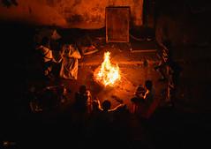 Once upon a time (Sid da' Cool) Tags: boyznthehood campfire kids fire storytime hood orange virar maharashtra india in