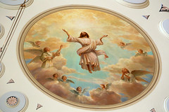 Ascension of Our Lord Ceiling Painting (Jim, the Photographer) Tags: catholic cathedral roman basilica baltimore assumption bvm