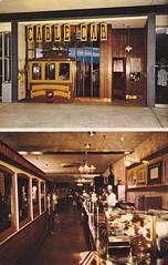 Cable Car Restaurant Valley Fair Shopping Center (hmdavid) Tags: california northerncalifornia vintage mall shopping restaurant postcard sanjose center valley 1950s cablecar santaclara southbay valleyfair