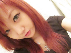 leechinhwa (25) (LEECHINHWA l skyler) Tags: red cute girl beautiful hair sweet russia korea korean lee kawaii uzbekistan chin skyler hwa pika lenses takumi ulzzang uljjang ohljjang leechinhwa