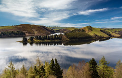 Llyn Clywedog (Howie Mudge LRPS BPE1*) Tags: sky mountain tree water clouds landscape photography nikon cymru polarizer llanidloes midwales sigma1020mm llynclywedog d7100 ©howiemudge2013