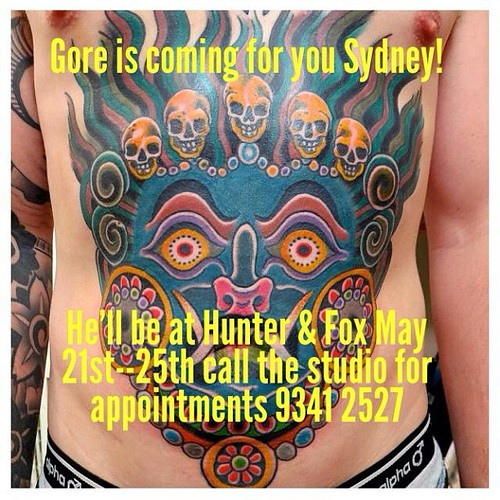 Hello Sydney! I will be working at Hunter & Fox May 20/25th if you