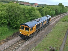 GBRF Class 66 66714 - Shirebrook Junction (the mother '66' 66001) Tags: junction royalmail colliery doncaster thoresby class66 shirebrook gbrf 66714 shirebrookjunction thoresbycolliery thoresbycollieryjunction doncasterroyalmailterml
