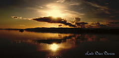 Vilagarcia de Arousa (Luis Diaz Devesa) Tags: sunset sea espaa beach clouds boat mar spain europa barco ship playa galicia galiza nubes puestadesol pontevedra vilagarciadearousa villagarciadearosa luisdiazdevesa