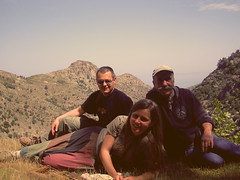 wild canyon ride 1 (angeloska) Tags: ikaria aegean may greece   rivertrekking chalares  dipotama ratsos  opsikarias cliffclimb