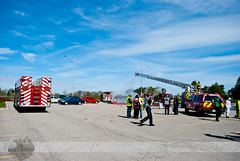 London Fire - R1, E7, E5, C1, Mock HAZMAT Scenario (Front Page Photography / Hooks & Halligans) Tags: ontario canada london college fire scenario service department services fanshawe mock hazmat dept fanshawecollege frontpagephotography hookshalligans hooksandhalligansfirephotography hooksandhalligans hookshalligansfirephotography