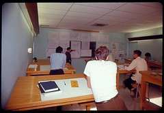 Meteorology class (St. Louis University Libraries Digital Collections) Tags: students stlouis alumni meteorology slu saintlouisuniversity stlouisuniversity parkscollege