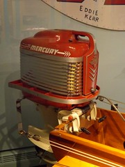Dossin Great Lakes Museum: Outboard Engine, C-Stock Class Hydroplane--Detroit MI (pinehurst19475) Tags: city museum detroit engine maritime belleisle hydroplane outboardmotor belleislepark dossinmuseum dossingreatlakesmuseum