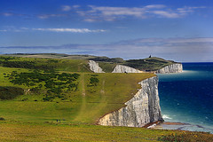 Southy Downs Way (Planetvista) Tags: england cliffs coastline eastsussex lowcontrast infocus southdownsway highquality