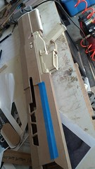 Rough Assembly 1 (malsfantasyfactory) Tags: rifle replica build oblivion