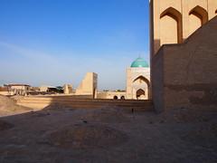 Uzbekistan 2013 (hunbille) Tags: view minaret mosque kalyan uzbekistan bukhara kalon ensemble complex oldcity bokhara poikalon viewfromminaret