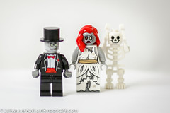 Bridal Party (*Julieanne*) Tags: skeleton groom bride lego fig zombie minifig min