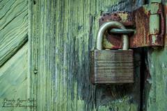 Locks of Time (Lovely Lizards Photography) Tags: door green rust doors lock locks lovelylizardsphotography