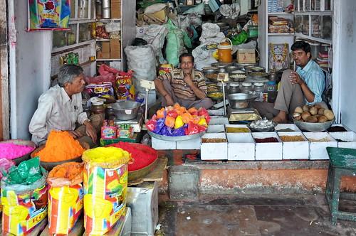 India - Rajasthan - Jaipur - Colour Powder For Holi Festival - 13