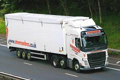 VOLVO FH _ STEVENSON Avonbridge (scotrailm 63A) Tags: stevenson trucks lorries